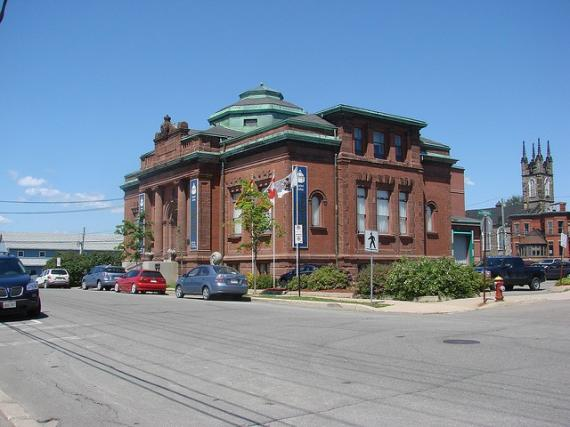 Art galleries in city of Saint John