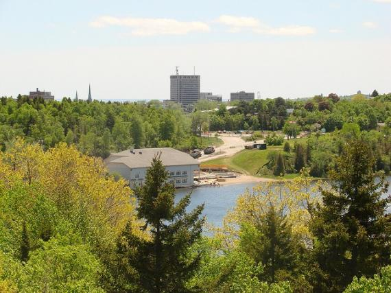 Beaches and parks in the city of Saint John