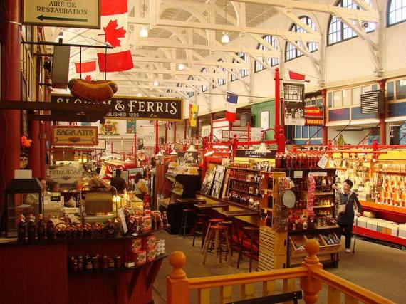 Shopping in city of Saint John